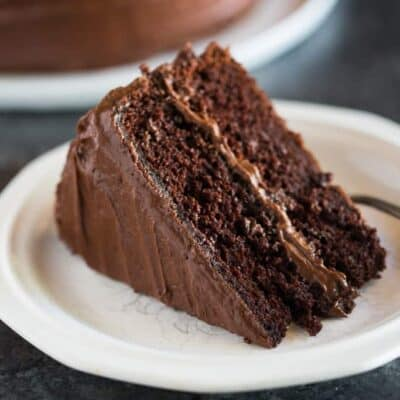 "Hershey's ""perfectly chocolate"" Chocolate Cake"