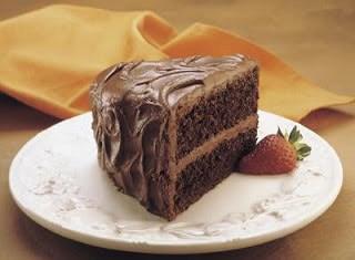"Hershey's ""perfectly chocolate"" Chocolate Cake"