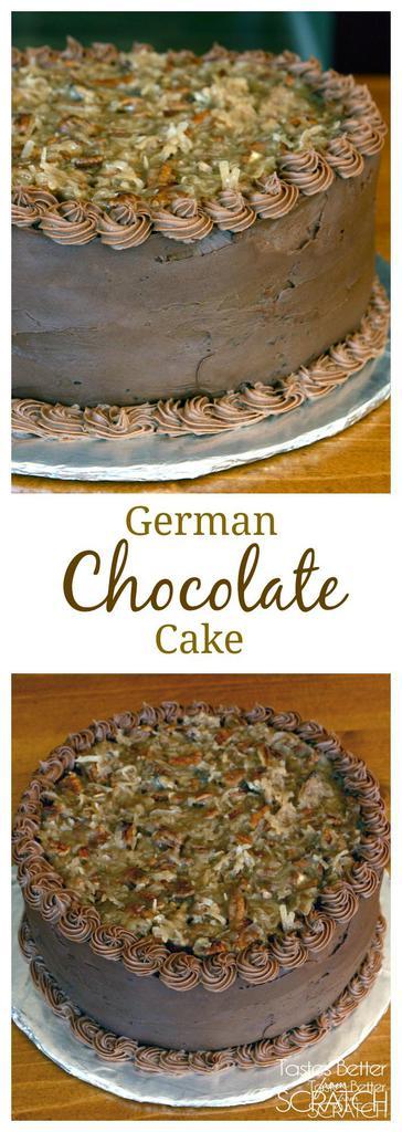 German Chocolate Cake recipe on TastesBetterFromScratch.com