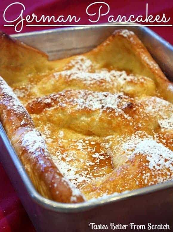 German Pancake Topped With Cinnamon And Sugar Recipes — Dishmaps
