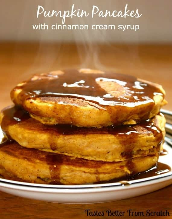 Pancakes tastes better with creampie 8