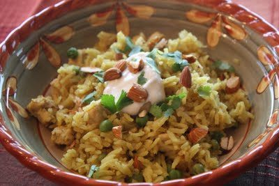 Spiced Chicken and Rice