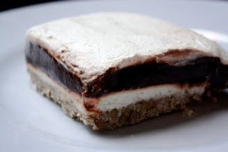 Four Layer Chocolate Pudding Dessert