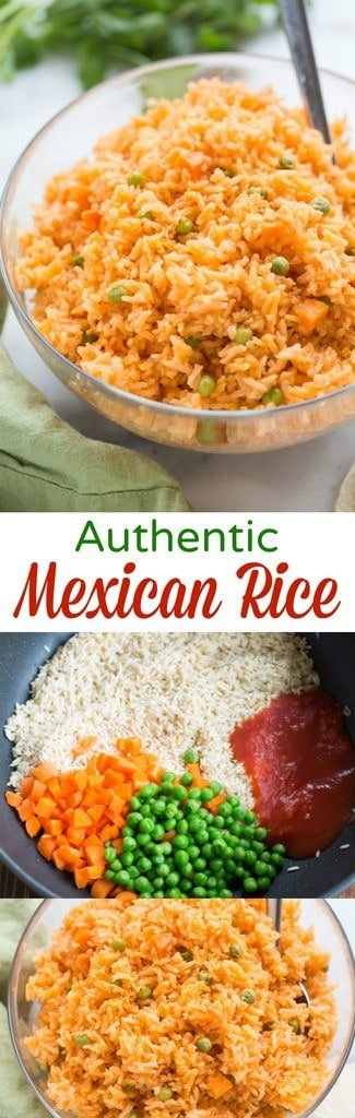Authentic Mexican Restaurant Rice Recipe Easy