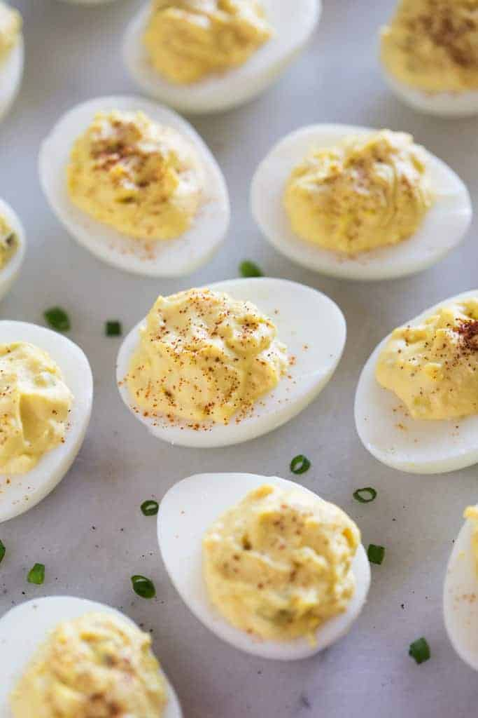 The recipe for stuffed eggs: simple and original