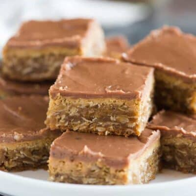 World's Best Peanut Butter Bars