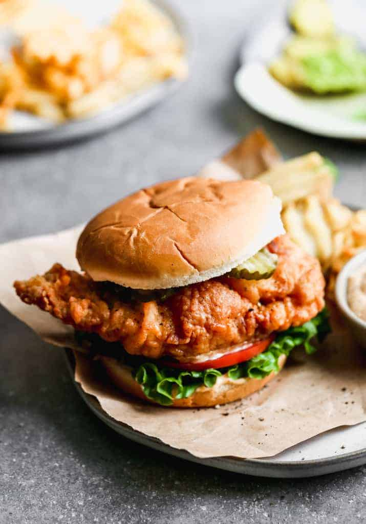 Chick Fil A Crispy Chicken Sandwich Copycat