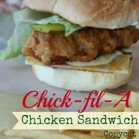 Chick-Fil-A Crispy Chicken Sandwhich copycat