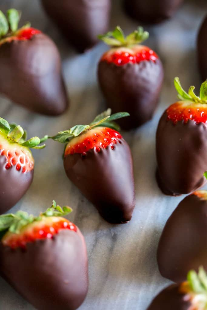 Easy Chocolate Covered Strawberries Tastes Better From Scratch