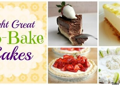 Eight Great No-Bake Cakes