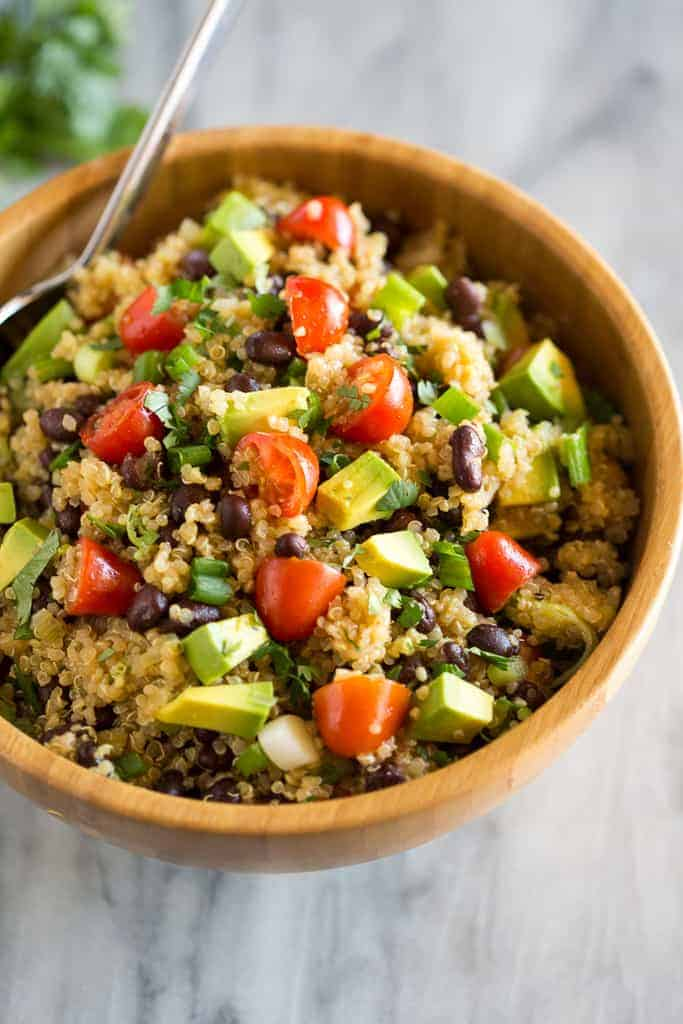 Southwest Quinoa Salad Recipe Tastes Better From Scratch