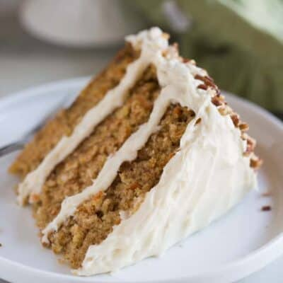 The Ultimate Carrot Cake with Cream Cheese Frosting