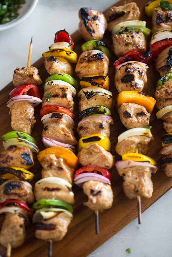 Easy Marinated Chicken Kebabs Tastes Better From Scratch