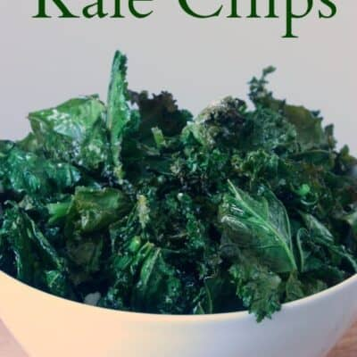 Garlic and Parmesan Kale Chips