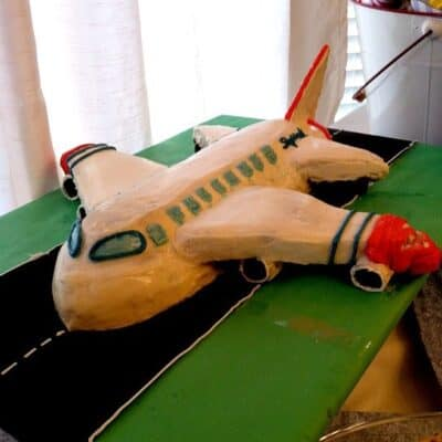 Airplane Cake Tutorial