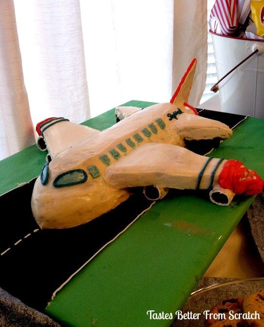 Airplane Cake Tutorial TastesBetterFromScratchcom