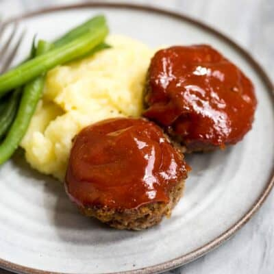 Mini Meatloaf Muffins