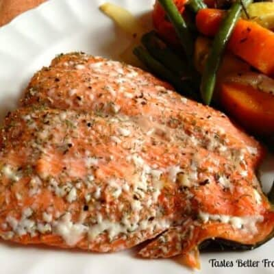 Favorite Baked Salmon with Dill