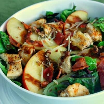 Apple, Bacon, & Pecan Salad
