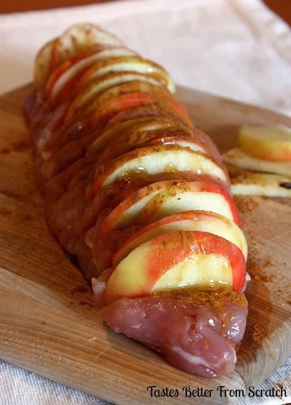Apple pork loin recipes slow cooker