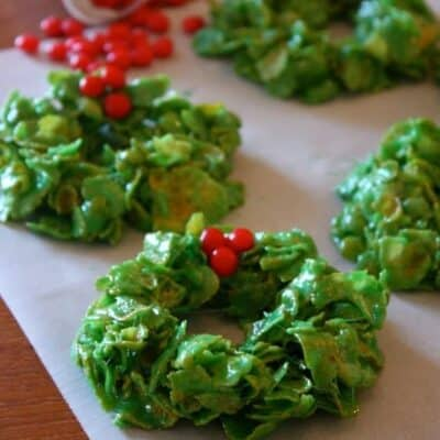 Christmas Cornflake Wreaths (Guest Post)