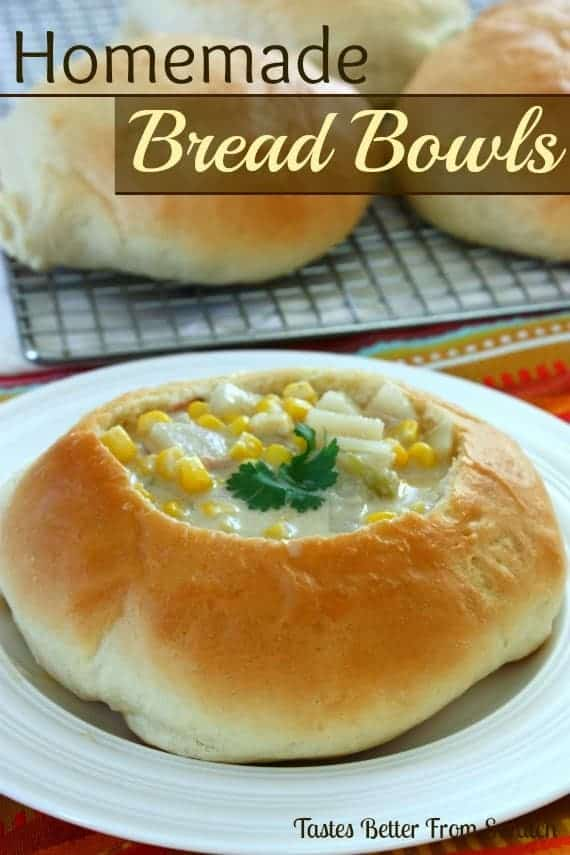 Homemade Bread Bowls | - Tastes Better From Scratch