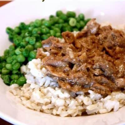 Teriyaki Pork {Slow Cooker}