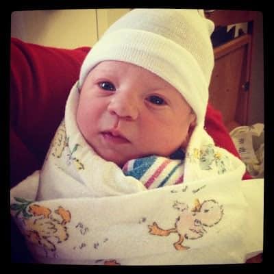 Newborn Jackson Allen