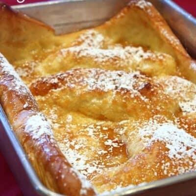 German Pancakes (Guest Post)
