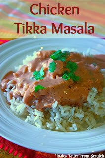 how to make a chicken tikka masala curry from scratch