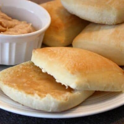 Texas Roadhouse Rolls with Cinnamon Honey Butter {copycat}