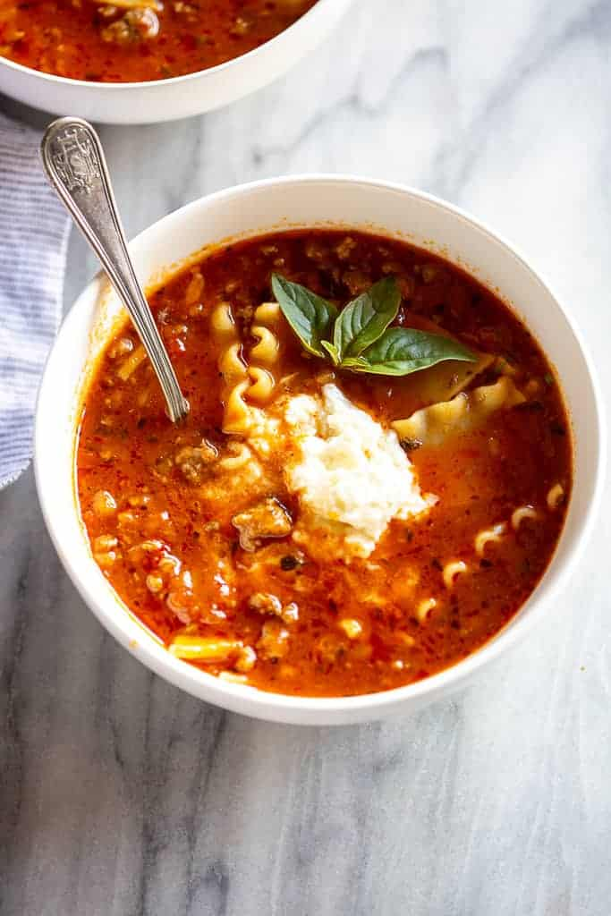 Lasagna Soup Recipe - Tastes Better From Scratch