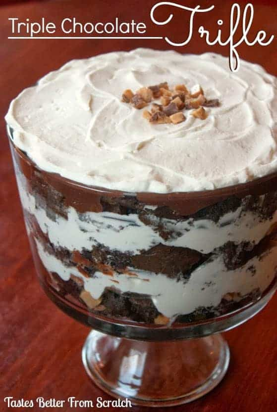 Triple Chocolate Trifle | Tastes Better From Scratch