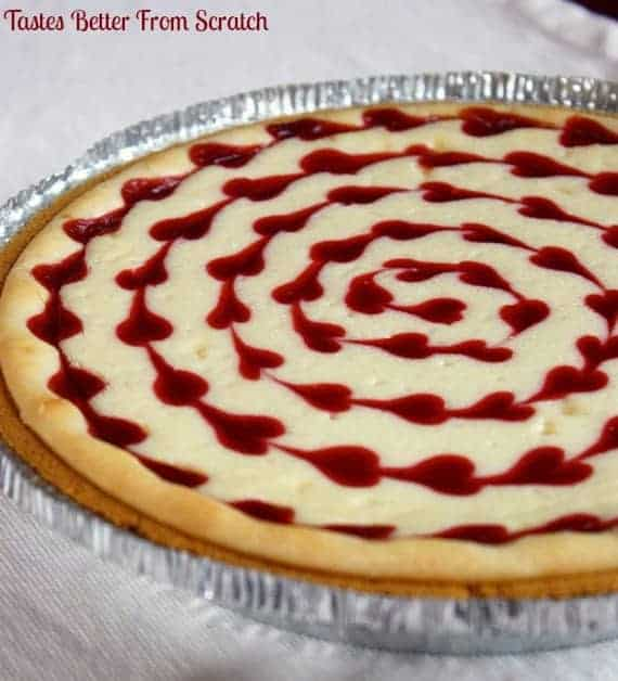 White Chocolate Raspberry Cheesecake | Tastes Better From Scratch