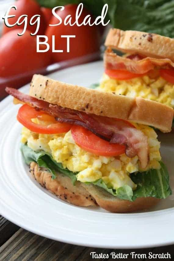 Egg salad blt sandwich tastes better from scratch ive got to be honest i dont know if id ever even heard of egg salad sandwiches until i married jeff he however has been a fan his whole life forumfinder Images