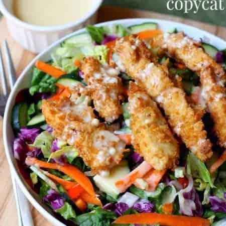 Applebee's Oriental Chicken Salad (copycat)