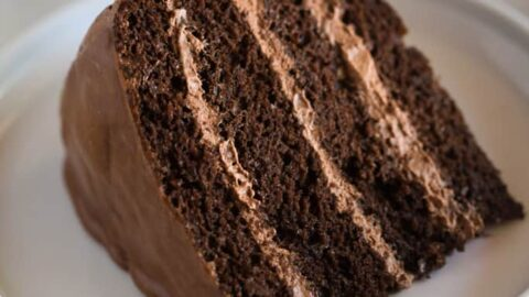 Amazing Chocolate Cake With Chocolate Mousse Filling Tastes Better From Funny Birthday Cards Online Alyptdamsfinfo