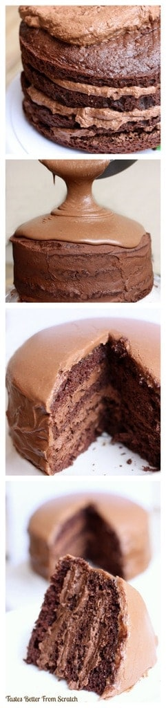 Chocolate Cake With Mousse Filling The BEST CHOCOLATE CAKE EVER Recipe On