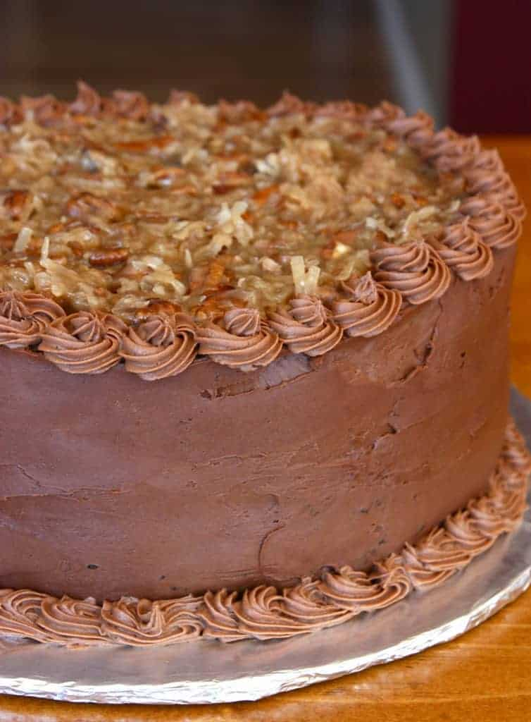 german chocolate cake from scratch chocolate cake with chocolate mousse filling 4483