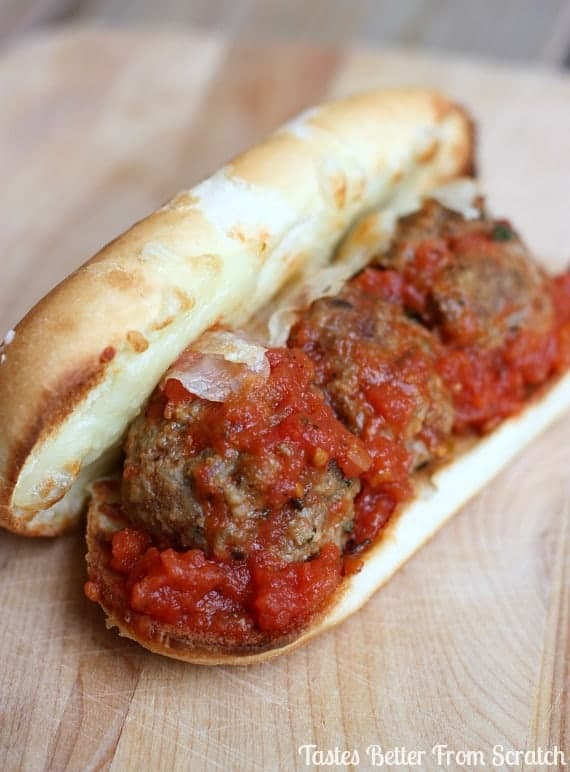 italian meatball subs tastes better from scratch