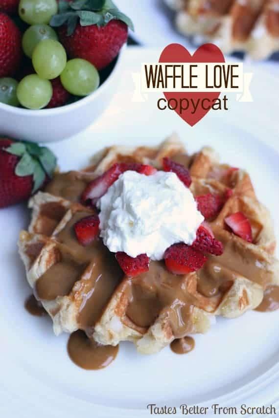Waffle Love Copycat Recipe from TastesBetterFromScratch.com