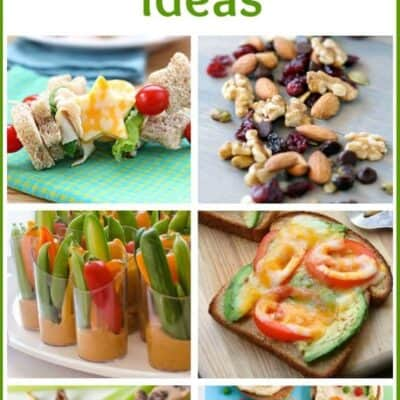 50+ Healthy Kids Snack Ideas