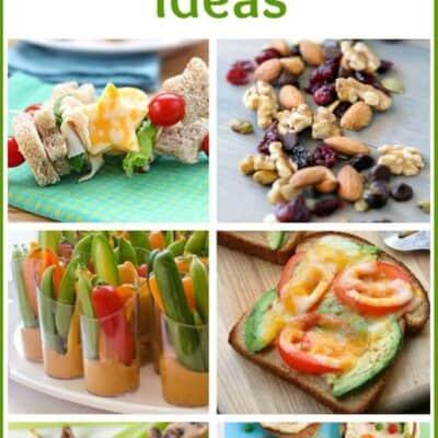 50+ Healthy Kids Snack Ideas