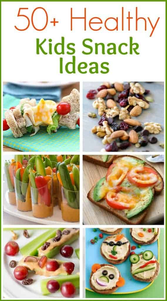 50 Healthy Kids Snack Ideas Roundup On TastesBetterFromScratch