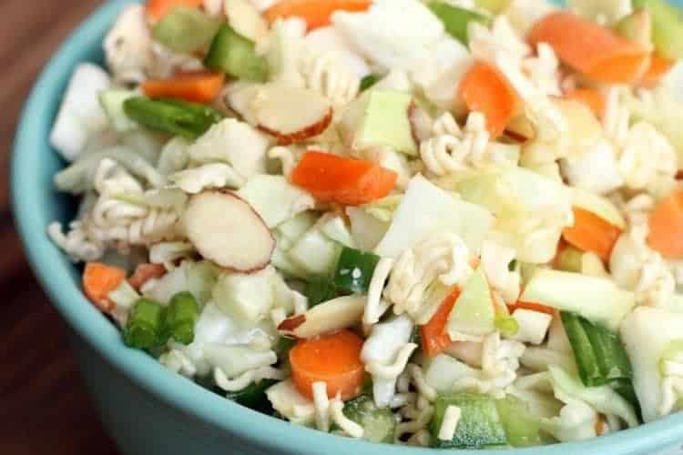 Asian Ramen Salad recipe from TastesBetterFromScratch.com
