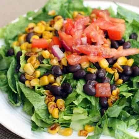 Roasted Corn and Black Bean Salad from TastesBetterFromScratch.com
