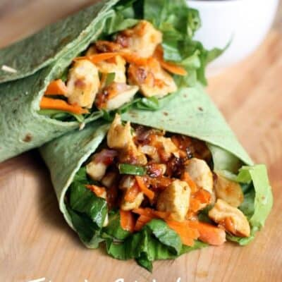 A Happy Picnic + Thai Chicken Crunch Wraps
