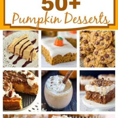 50+ Pumpkin Desserts