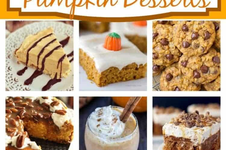 50+ Amazing Pumpkin Desserts! https://tastesbetterfromscratch.com