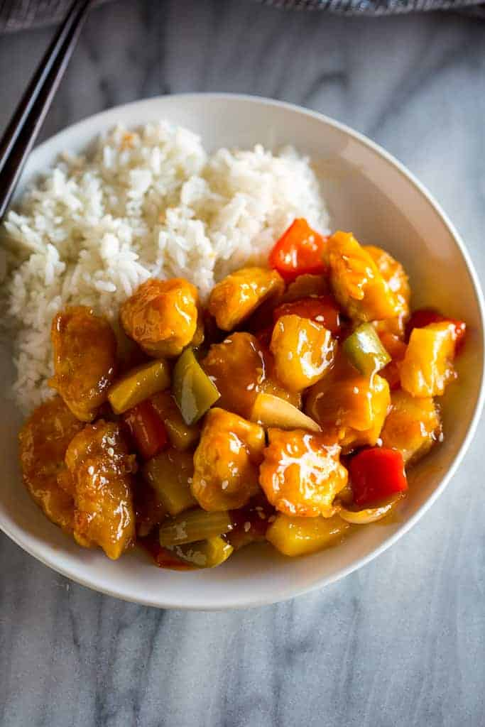 Sweet And Sour Chicken Tastes Better From Scratch